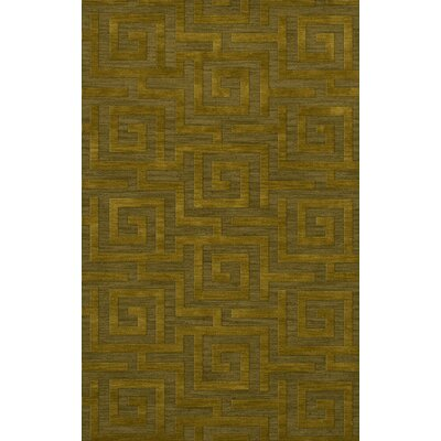 Dover Avocado Area Rug Rug Size: Rectangle 12 x 18