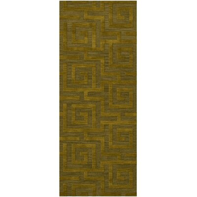 Dover Avocado Area Rug Rug Size: Runner 2'6