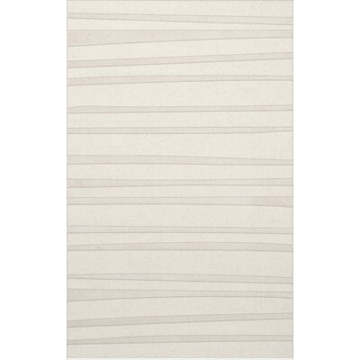 Dover Tufted Wool Snow Area Rug Rug Size: Rectangle 9 x 12