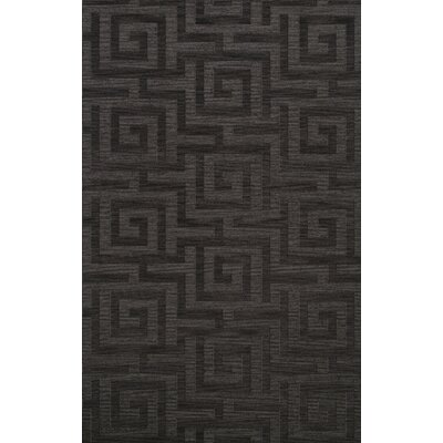Dover Tufted Wool Ash Area Rug Rug Size: Rectangle 12 x 18