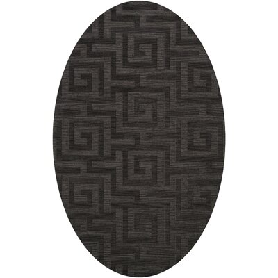 Dover Tufted Wool Ash Area Rug Rug Size: Oval 9 x 12