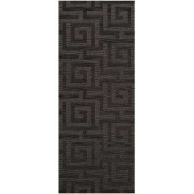 Dover Tufted Wool Ash Area Rug Rug Size: Runner 26 x 10