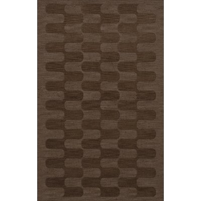 Dover Mocha Area Rug Rug Size: Rectangle 5 x 8