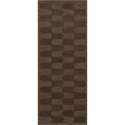 Dover Mocha Area Rug Rug Size: Runner 26 x 10