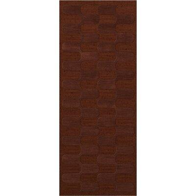 Dover Paprika Area Rug Rug Size: Runner 26 x 12