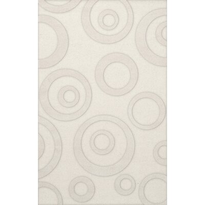 Dover Snow Area Rug Rug Size: Rectangle 6 x 9