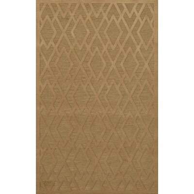 Dover Tufted Wool Wheat Area Rug Rug Size: Rectangle 12 x 18