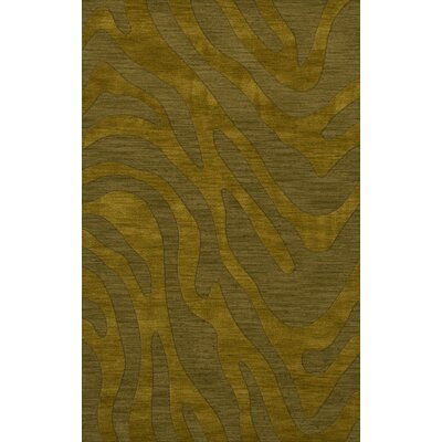 Dover Avocado Area Rug Rug Size: Rectangle 4 x 6