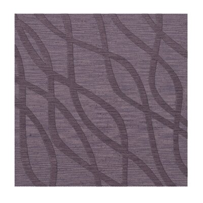 Dover Tufted Wool Viola Area Rug Rug Size: Square 8
