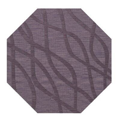 Dover Tufted Wool Viola Area Rug Rug Size: Octagon 12