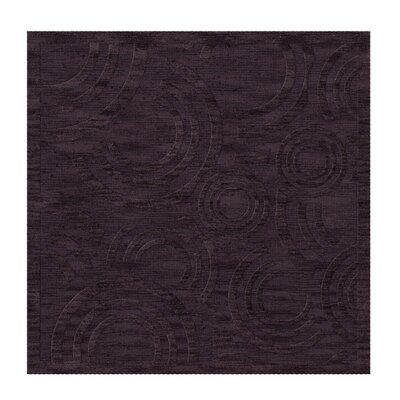 Dover Tufted Wool Grape Ice Area Rug Rug Size: Square 12