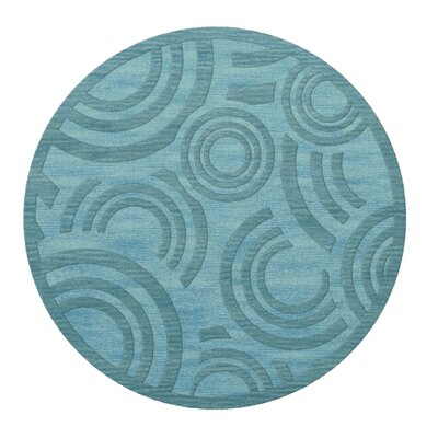 Dover Peacock Area Rug Rug Size: Round 10