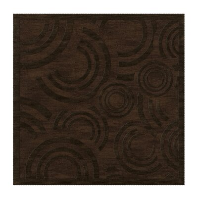 Dover Tufted Wool Fudge Area Rug Rug Size: Square 8'