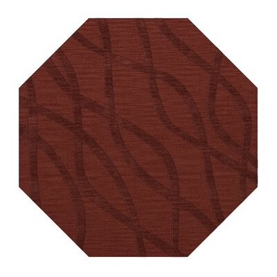 Dover Tufted Wool Canyon Area Rug Rug Size: Octagon 4