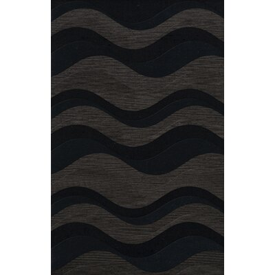 Hambrook Wool Shadow Area Rug Rug Size: Oval 10 x 14