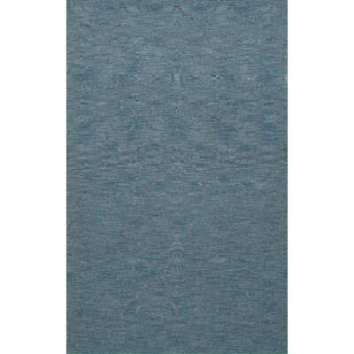 Bella Machine Woven Wool Blue Area Rug Rug Size: Square 6