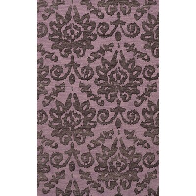 Bella Purple Area Rug Rug Size: 12 x 18