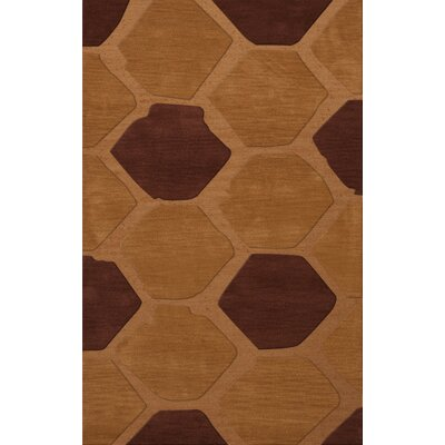 Hamswell Wool Cider Area Rug Rug Size: Rectangle 4 x 6