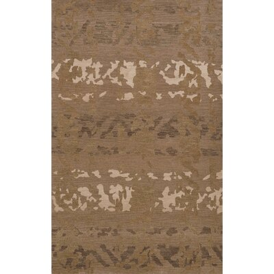 Bella Brown Area Rug Rug Size: Oval 3 x 5