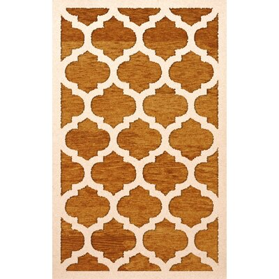 Bella Orange Area Rug Rug Size: Rectangle 12 x 18