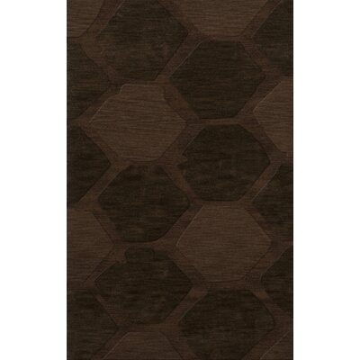 Harmonia Wool Nutmeg Area Rug Rug Size: Rectangle 4 x 6
