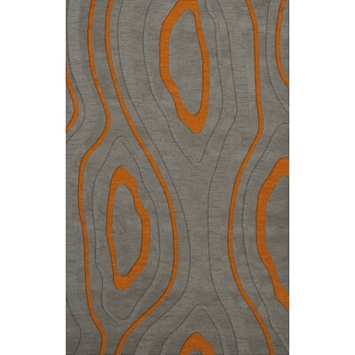 Sarahi Wool Zinc Area Rug Rug Size: Rectangle 4 x 6