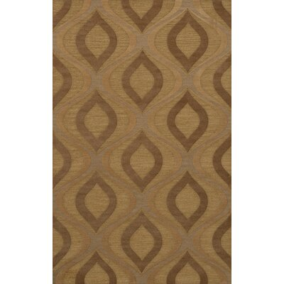 Sarahi Wool Amber Area Rug Rug Size: Rectangle 8 x 10