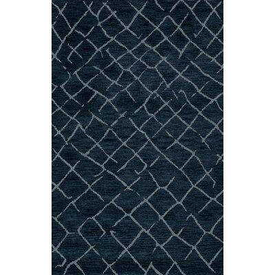 Bella Blue Area Rug Rug Size: Rectangle 6 x 9