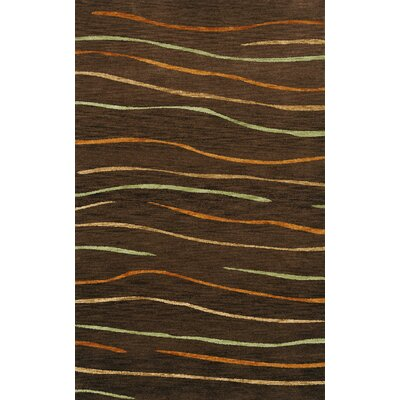 Bella Brown Area Rug Rug Size: 4' x 6'