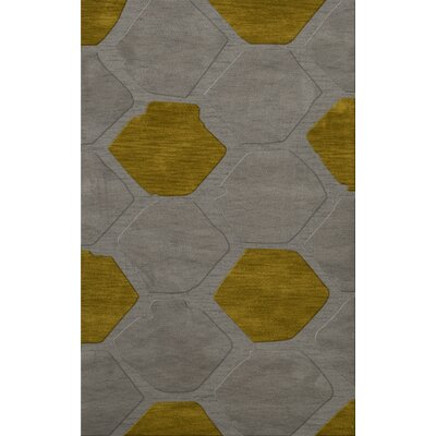Harman Wool Flagstone Area Rug Rug Size: Rectangle 4 x 6