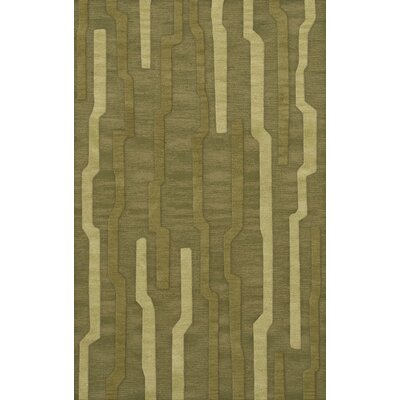 Haslett Wool Tarragon Area Rug Rug Size: Rectangle 6' x 9'