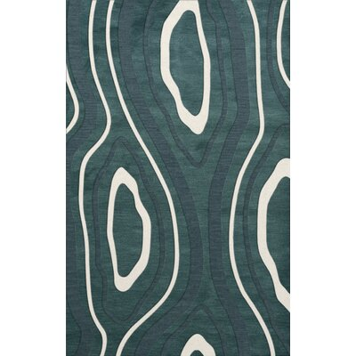 Sarahi Wool Geyser Area Rug Rug Size: Rectangle 4 x 6