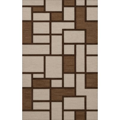 Halford Wool Earth Area Rug Rug Size: Rectangle 5 x 8