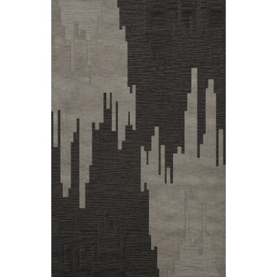 Hasse Wool Chinchilla Area Rug Rug Size: Rectangle 5 x 8