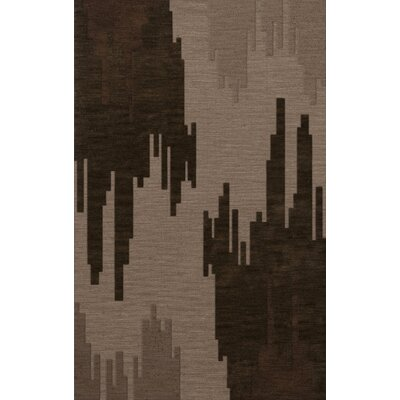 Haskin Wool Earth Area Rug Rug Size: Oval 12 x 18