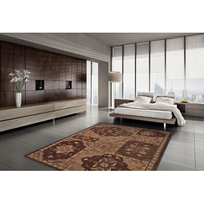 Galleria Olive Area Rug Rug Size: Rectangle 9 x 13