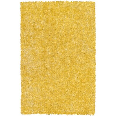 Bright Lights Lemon Area Rug Rug Size: 3'6
