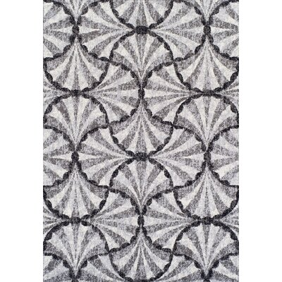 Finesse Dalyn Pewter Area Rug Rug Size: 33 X 51