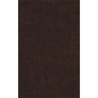 Nan Shag Chocolate Area Rug Rug Size: Rectangle 36 x 56