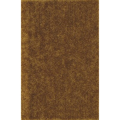 Nan Shag Gold Area Rug Rug Size: Rectangle 5 x 76