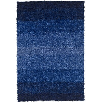 Nasiba Cobalt Area Rug Rug Size: Rectangle 36 x 56