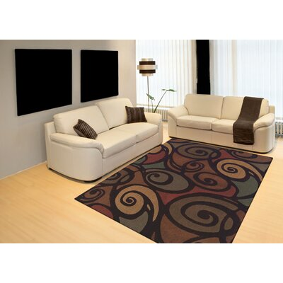 Capri Hand-Woven Brown Area Rug Rug Size: Rectangle 33 x 53