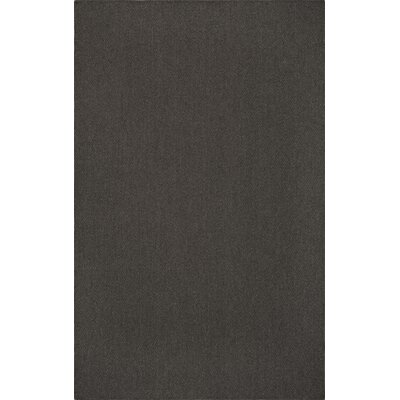 Dionne Charcoal Area Rug Rug Size: Rectangle 5 x 8