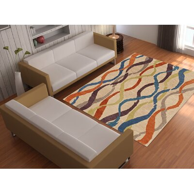 Impulse Wool/Silk Linen Area Rug Rug Size: Rectangle 9 x 13