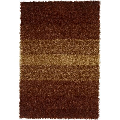 Nasiba Paprika Area Rug Rug Size: Rectangle 5 x 76