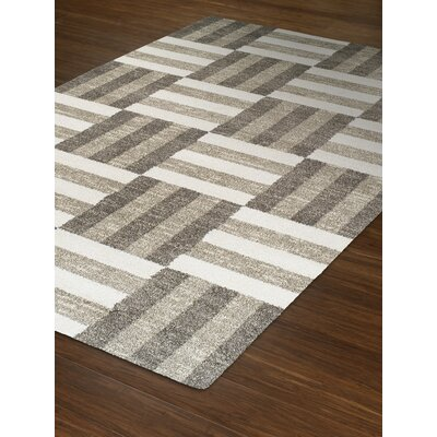 Omega Pewter Area Rug Rug Size: Rectangle 53 x 77