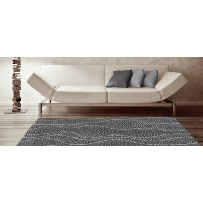 Tempo Graphite Area Rug Rug Size: Rectangle 96 x 132