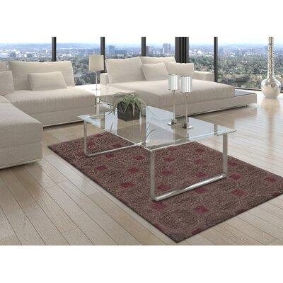 Tones Wool Charcoal Area Rug Rug Size: 9 x 13