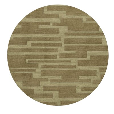 Dover Marsh Area Rug Rug Size: Round 6