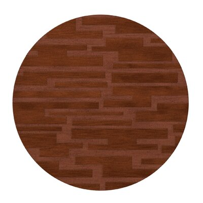 Dover Spice Area Rug Rug Size: Round 10